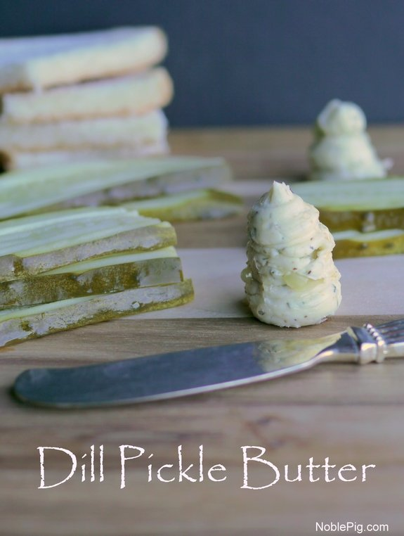 Dill Pickle Butter from Noble Pig