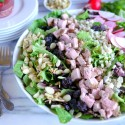 Pork-Crunch-Salad-with-Strawberry-Poppyseed-Dressing