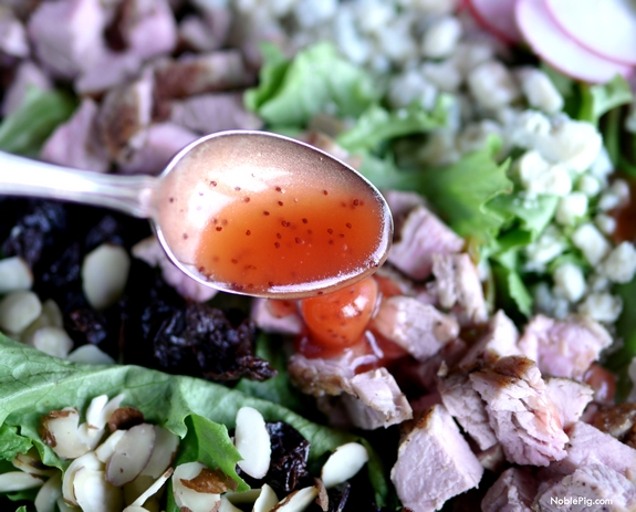Pork Crunch Salad with Strawberry Poppyseed Dressing 2