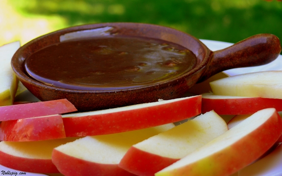 Chocolate Mint Fondue