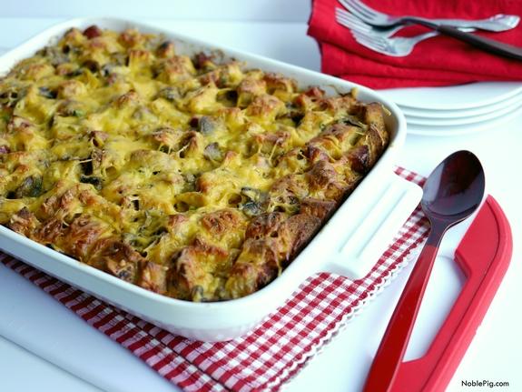 recipe: breakfast casserole with stuffing [8]