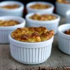 Mini Cauliflower-Boursin Souffles