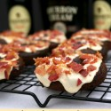 Chocolate-Guinness-Doughnuts-with-Bourbon-Creme-Glaze-and-Bacon
