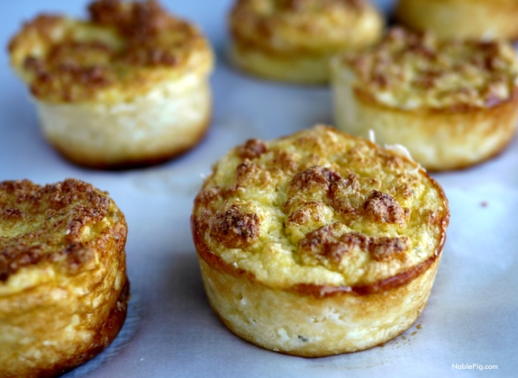 Mini Cauliflower Boursin Souffles 3