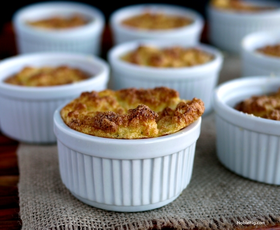 Mini Cauliflower Boursin Souffles