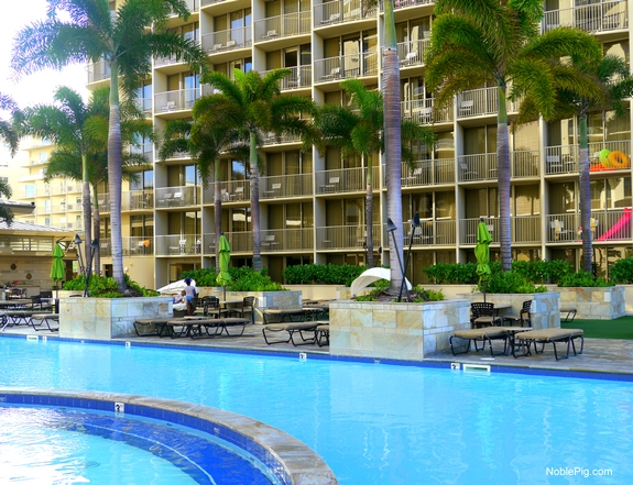 Embassy Suites Waikiki Beach Walk by the pool 2