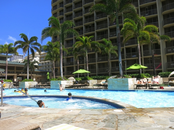 Embassy Suites Waikiki Beach Walk by the pool 3