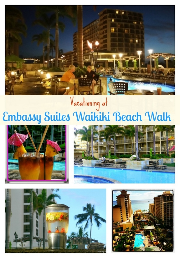 Vacationing at Embassy Suites Waikiki Beach Walk Oahu Hawaii