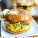 Cheesy-Egg-Avocado-and-Bacon-Breakfast-Sandwich
