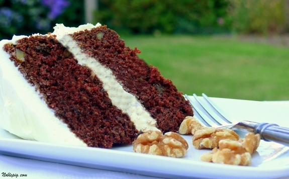 Chocolate Zucchini Cake its delicious you should try it