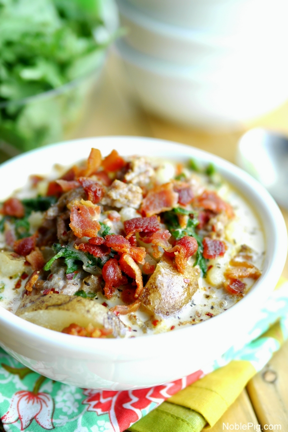 Olive Garden Zuppa Toscana Copycat Recipe Noble Pig