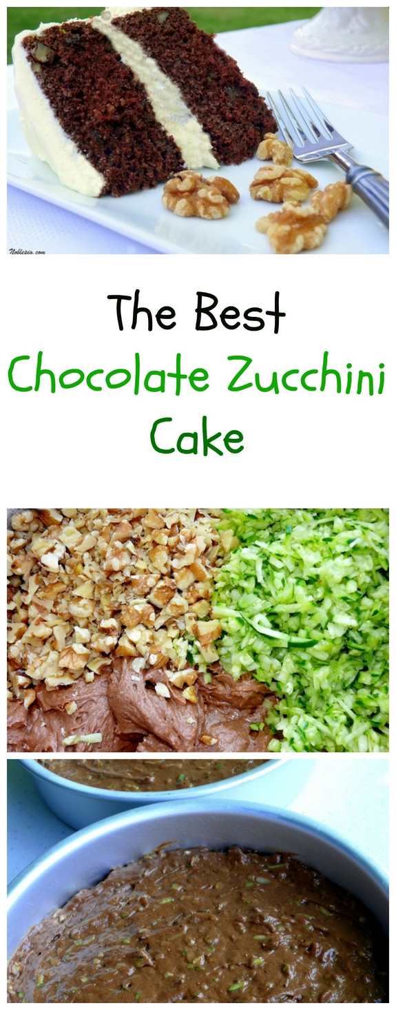 The Best Chocolate Zucchini Cake