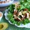 Southwest Chicken, Avocado and Quinoa Lettuce Wraps