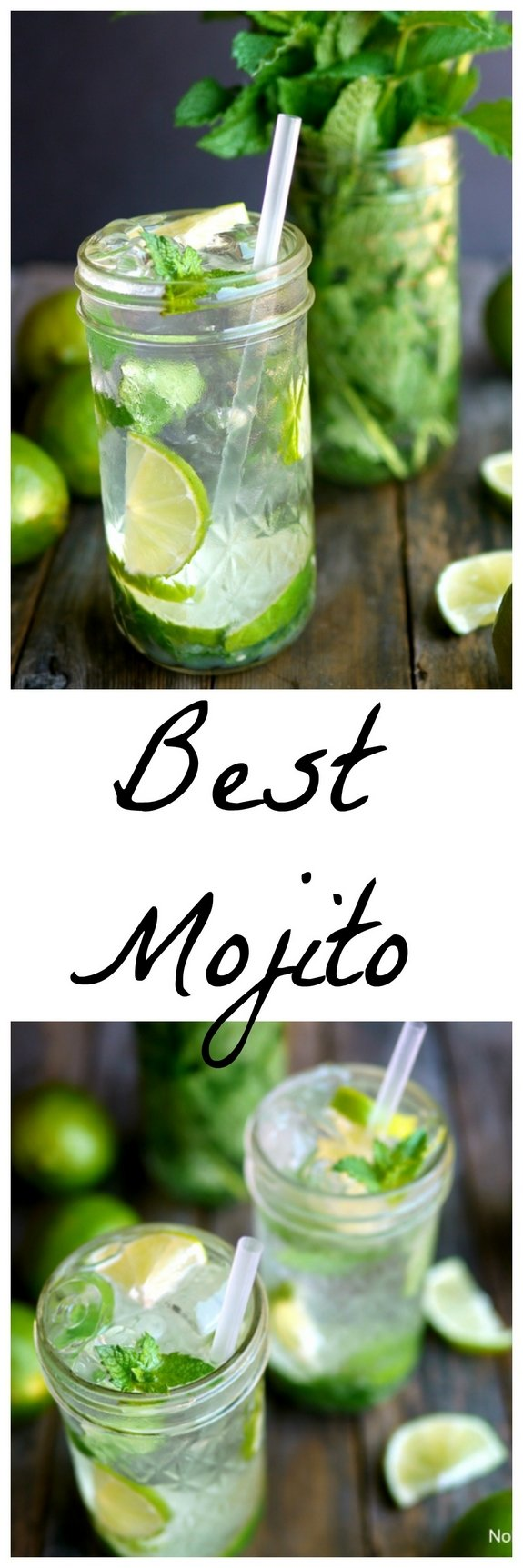 After extensive recipe testing THIS is The Best Mojito