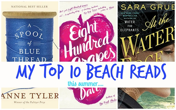 Top 10 Beach Reads This Summer