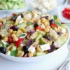 Greek Pasta Salad + VIDEO