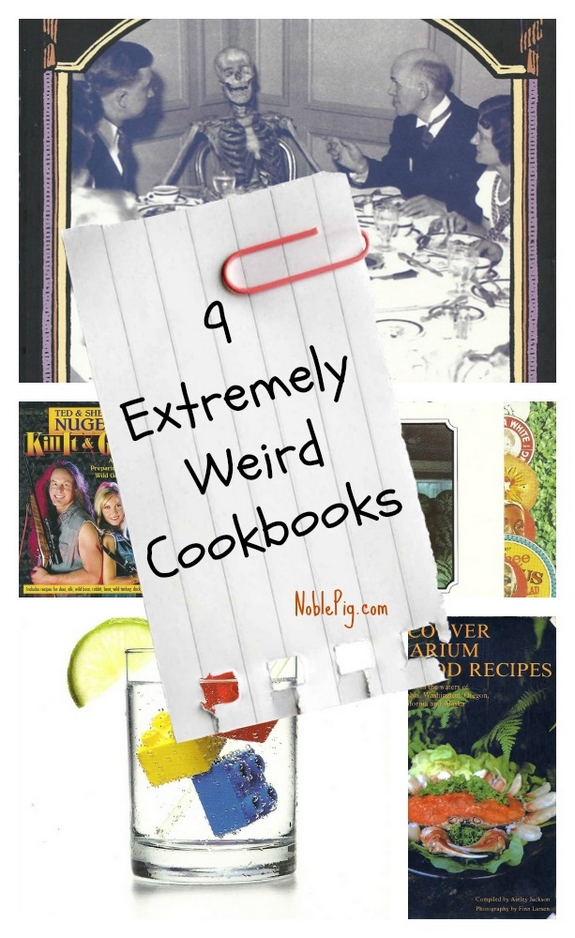 9 Extremely Weird Cookbooks you probably dont have but maybe you want them