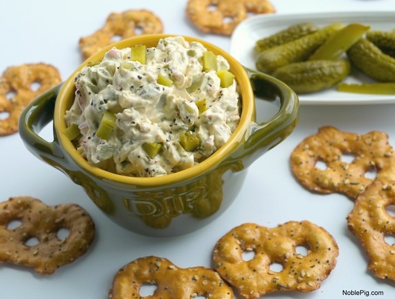 Dill Pickle Dip for all the Dill Pickle lovers