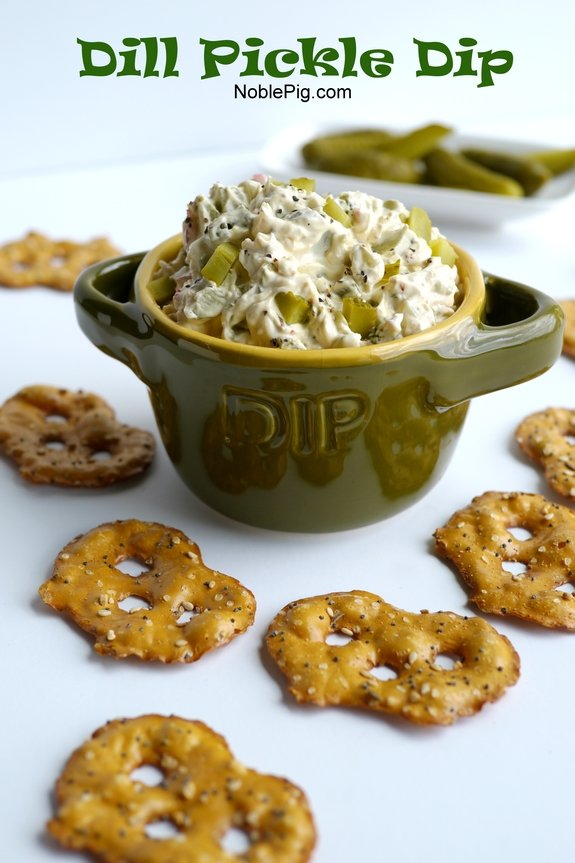 Dill Pickle Dip its over the top delicious