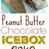 Peanut Butter-Chocolate Icebox Cake + VIDEO