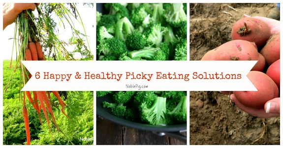 6 Happy and Healthier Picky Eating Solutions great ideas to open up your kids to new and exciting foods