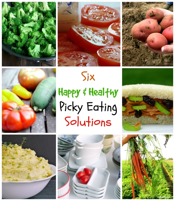 6 Happy and Healthy Picky Eating Solutions great ideas to get your picky eater to try some new things
