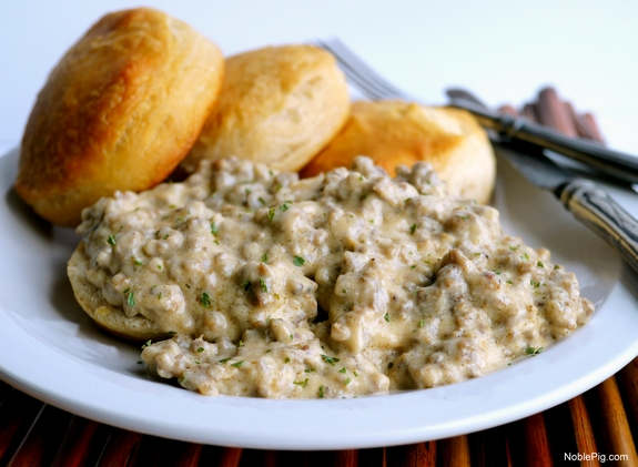 The Best 5 Ingredient Sausage Gravy your breakfast just got better