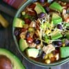 15-Minute Mexican Chicken Soup with Avocado
