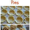 Mini Apple Crumble Pies
