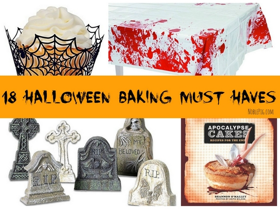 18 Halloween Baking Must Haves