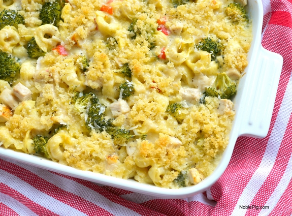Chicken Tortellini Casserole the best dinner