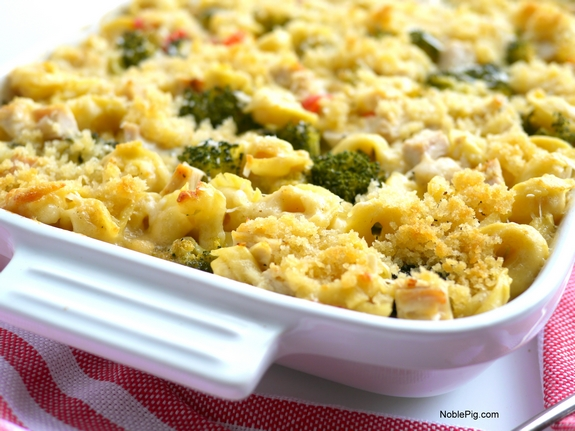 Chicken Tortellini Casserole the best