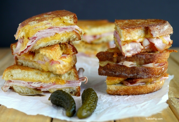 Epic Grilled Ham and Cheese Sandwich you will never make grilled cheese any other way
