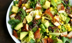 Southwest-Chicken-Salad-with-Homemade-Southwest-Dressing-the-perfect-dinner