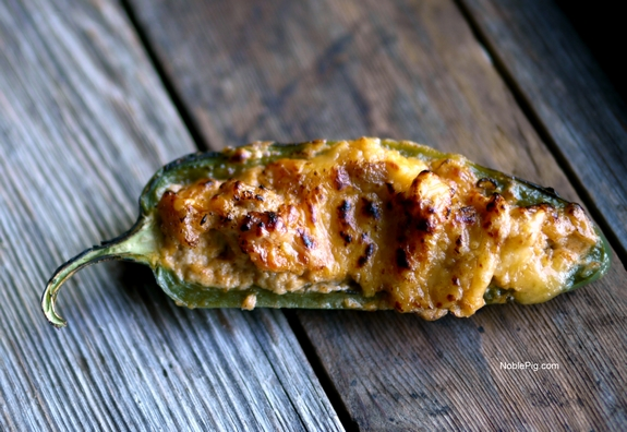 Spicy Ground Turkey Stuffed Jalapenos perfection