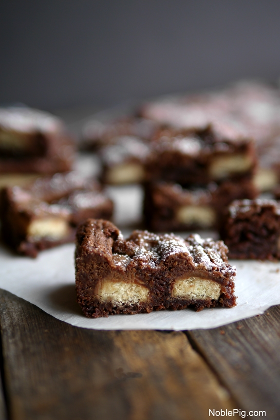 Twix Candy Bar Brownies the best dessert