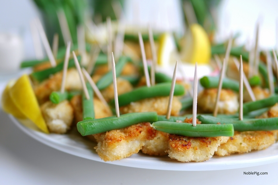 Double Ranch Chicken and Green Bean Bites 7