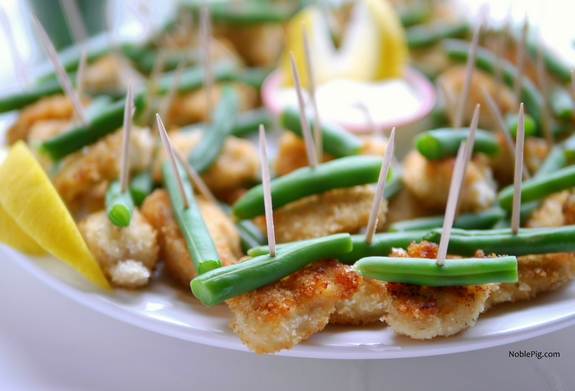 Double Ranch Chicken and Green Bean Bites 8
