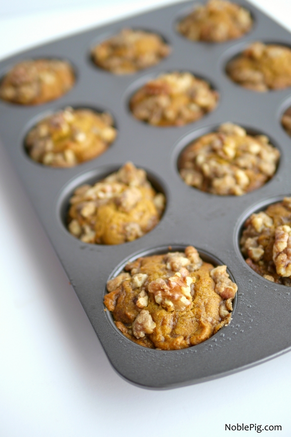 Pumpkin Brown Sugar Muffins 1