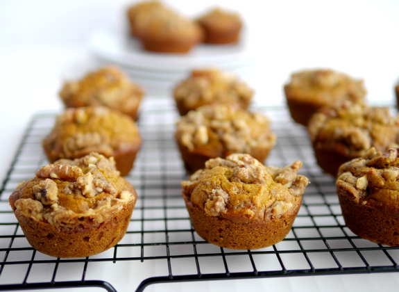 Pumpkin Brown Sugar Muffins deliciously moist and packed with flavor