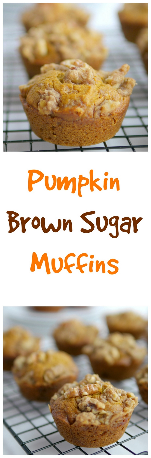 Pumpkin Brown Sugar Muffins