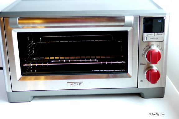 Wolf Gourmet Countertop Convection Oven : You are going to be astonished at all its bells and whistles and the ...