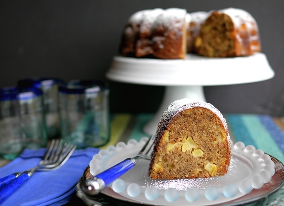 Cinnamon Apple Bundt Cake a perfect way to celebrate