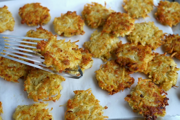 Panko Latkes crispy and delicious