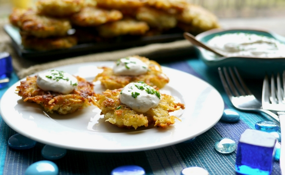 Panko Latkes the perfect crispy and delicious choice