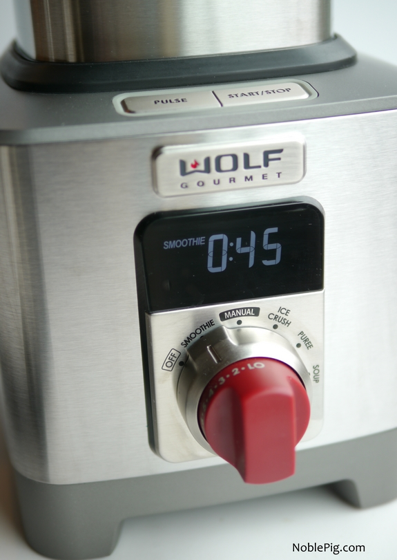 Wolf Gourmet High Performance Blender Smoothie Setting
