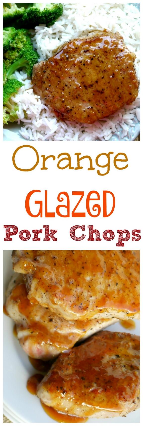 Orange Glazed Pork Chops For The Win
