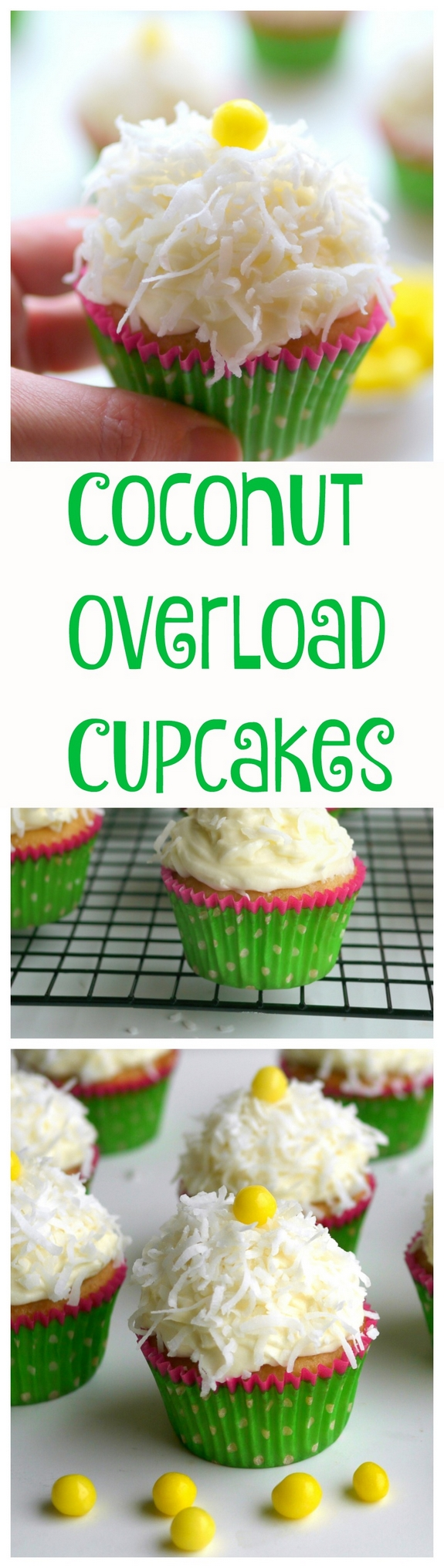 Coconut Overload Cupcakes are packed with coconut goodness Coconut ...