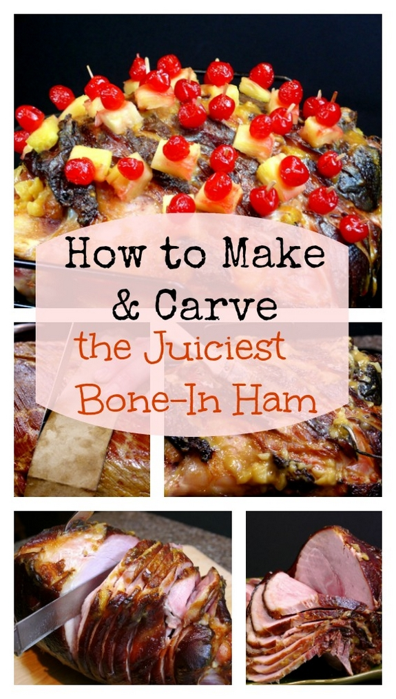 How to Make and Carve the Juciest Whole Bone In Holiday Ham on the planet