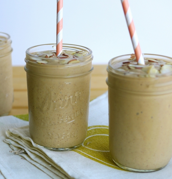 Chocolate Avocado Almond Butter Smoothie is a healthy way to enjoy breakfast